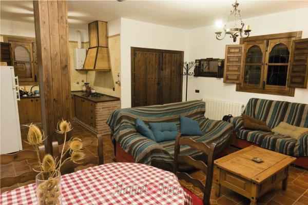 Salon casa rural Bayarcal