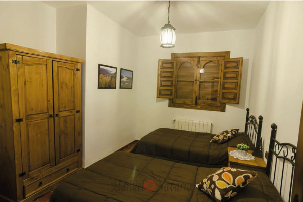 Habitación doble casa rural